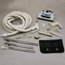 Built-in Kit, 30' Dual Switch Ivory Nozzle Tools Caddy Hngr