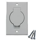 Built-In 791500WNL Inlet Valve, White W/Round Door Smooth Finish