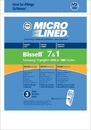 Bissell 447927, NLA Paper Bag, Bissell Style 1&7 Micro Lined Dv