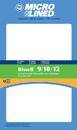 Filter, DVC Bissell 9/10/12 Dirt Cup Foam 4Pk