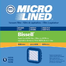 Filter, DVC Bissell Hand Vac HEPA 1Pk