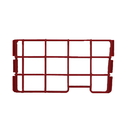 Cirrus: C-18422 Cover, Secondary Filter  Red CR79/CR89 Uprights