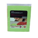 Casabella 15460 Sponge, Cellulose Lg Cloths Lime, Orange 3Pk Asst