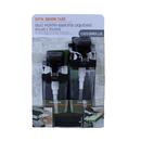 Casabella 8550031 Sponge Holder, Sink Sider Duo W/ Sponge Blk/Chrome