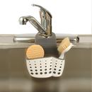 Casabella 50094 Sponge Holder, Sink Sider Faucet White/Grey
