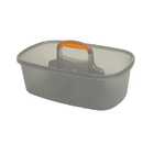 Casabella 62441, Caddy, For 4 Gal Rect Bucket Graphite/Orange