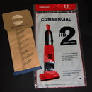 Dust Care DC138FP, Paper Bag, Commercial 2 Motor Upright 12 Pack