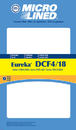 Eureka 413407 Filter, Dvc Eureka Dcf4 1 Pk