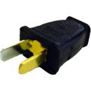 Fitall SA540, Plug, Male 2 Wire Black