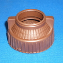 Filter Queen 30-1336-88, Cover, Machine End Coupling Brown
