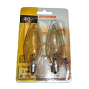 Heat Surge 30000156, Bulb, Front Tip Clear 2PK Carded Case Of 6 2PKs