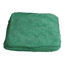 Jansan C16GRE Cloths, MICROFIBER 16 X 16 12 PK GREEN