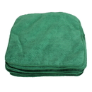 Jansan Cloths, MICROFIBER 12 X 12 12 PK GREEN