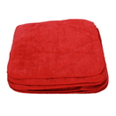 Jansan Cloths, MICROFIBER 12 X 12 12 PK RED