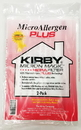 Kirby 205814A, Paper Bag, Micron Magic Plus Hepa 13 2PK
