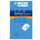 Kenmore 491105 Paper Bag, Dvc Kenmore 5055/50558 Microl 9Pk