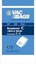 Kenmore 406732, NLA Paper Bag, Kenmore 5055 Canister Dvc 3PK