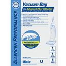 Miele 413170 Paper Bag, Dvc Miele Type U Synthetc 5 + 2Pk