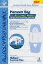 Paper Bag, DVC Nutone 395 Central Vac Syn 3Pk