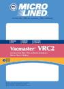 Filter, DVC Vacmaster VRC2 2.5 Gallon Cloth 3Pk