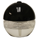 Unilution 75606-BLACK Air Cleaner, ECOGECKO REVITALIZER EARTH GLOBE BLAC