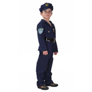 TopTie Child Police Officer Costumes / Cop Dress Up Costume