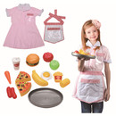 TOPTIE Waiter Role Play Costume Set for Kids, Pretend Play Dress-up and Play set