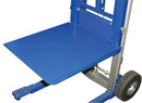 Vestil A-LIFT-DK hand winch lift option - deck platform