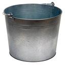 Vestil BKT-GAL-500 galvanized steel bucket 5 gallons