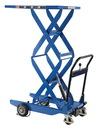 Vestil CART-400-D-HR double scissor cart 400lb 23.6 x 35.4