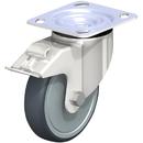Vestil CST-A-SS-5X1TPE-SWTB 5x1-1/4 poly, swivel w/total brake
