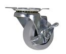 Vestil CST-B23-2X1TPR-SWB 2x4/5 tpr, swivel w/brake