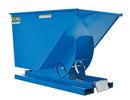 Vestil D-100-LD self-dump hopper light-duty 1 cu yd 2k