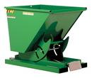 Vestil D-50-LD-GRN-T self-dump ld hopper .5 cu yd 2k green