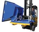 Vestil D-TILT hopper sideways dumping option