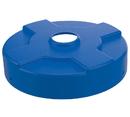 Vestil DC-P-55-CAN-BU drum recycling lid 55 gal drum blue