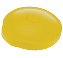 Vestil DC-P-55-UF-YL yellow drum cover universal fit