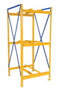 Vestil DRK-1-3 drum storage rack 1 wide 3 high