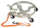 Vestil DRUM-TRI-H-TLT three tier tilting drum dolly 900 lb