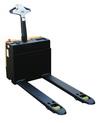 Vestil EPT-2547-30-SCL elec pallet truck 3k-25x47 scale (2)12v