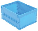 Vestil F-CRATE folding container 23.5x18.4x12.1 usable