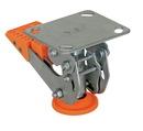 Vestil FL-LKH-4 floor lock steel/poly 4-5/8 to 5-3/4 in