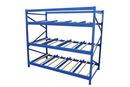 Vestil FLOW-3-3 carton rack w/gravity roll 36 in 3 lvl