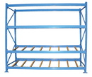 Vestil FLOW-4-3 carton rack w/gravity roll 48 in 3 lvl