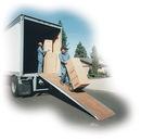 Vestil FWR-3012-50 heavy duty fiberglass walk ramp 144 x 30