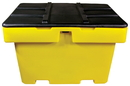 Vestil HDSB-18 heavy duty salt box 18 cubic foot cap