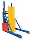 Vestil HLD-116-10-P hydraulic drum dumper 1k portable