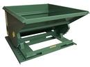 Vestil HOP-100-LD self-dump light duty hopper 1 cu yd 2 k