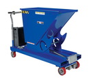 Vestil HOP-PTD steel hopper w/ power traction drive