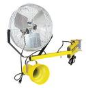 Vestil LL-40-FAN incandescent double arm light/fan 88 in